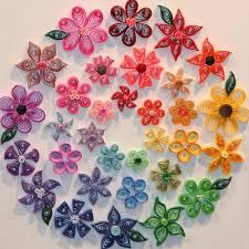 квилинг-цветя