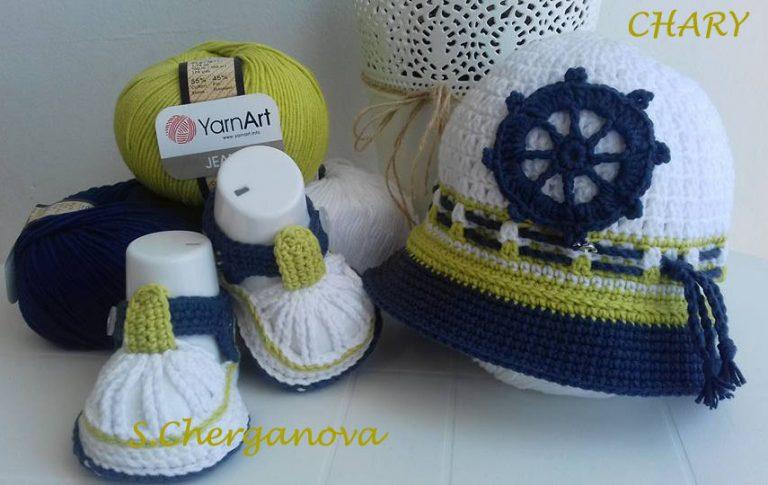 Комплект-шапка-и-сандалки