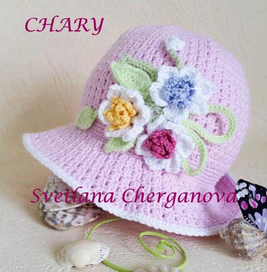розова-бебешка-лятна-шапка