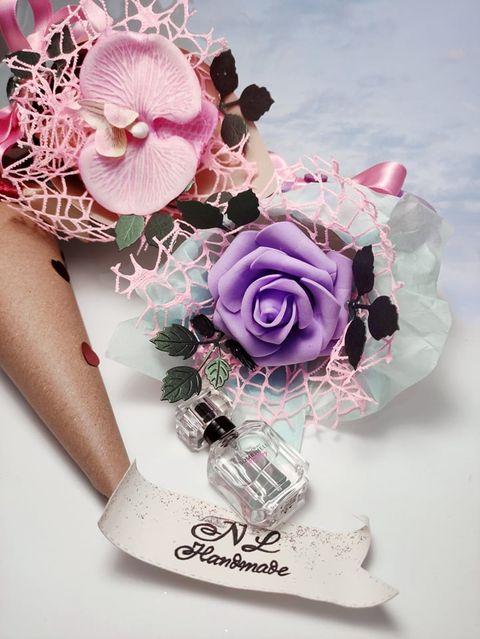 букет-цветя-скрапбук