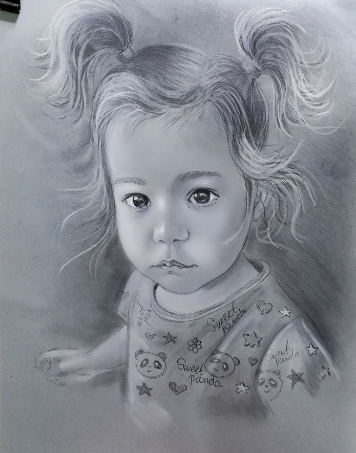 рисуван-портрет