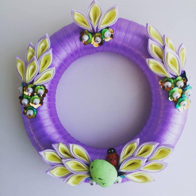 великденски-пролетен-венец