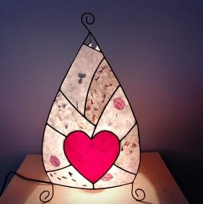 лампа-сърце