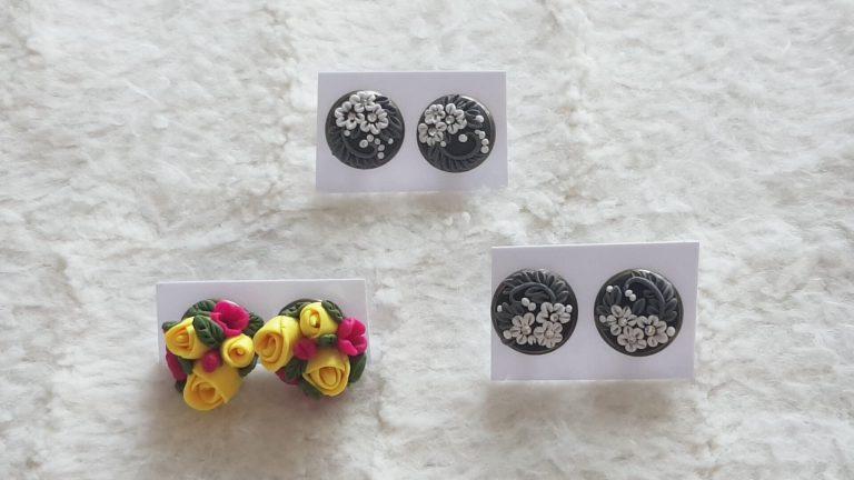 обеци-с-цветя-от-полимерна-глина