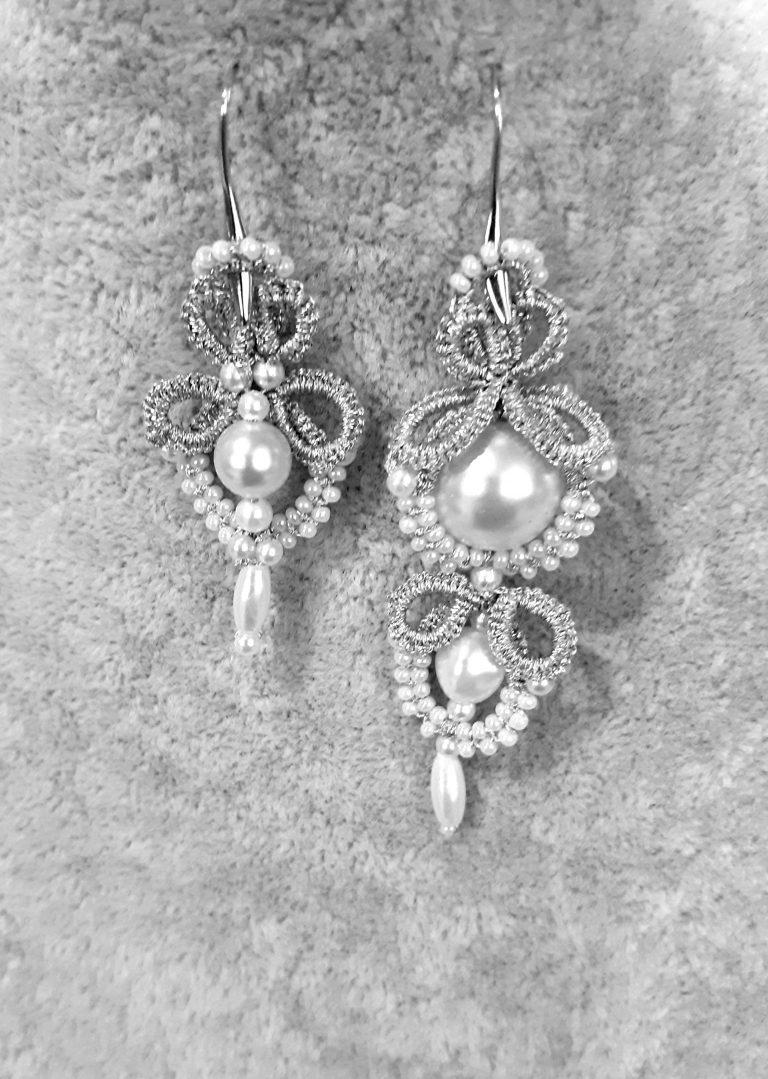 асиметрични-плетени-обеци-с-перли