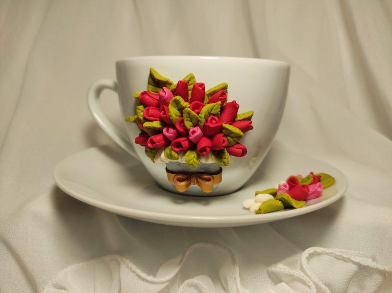 чаша-с-цветя-от-полимерна-глина