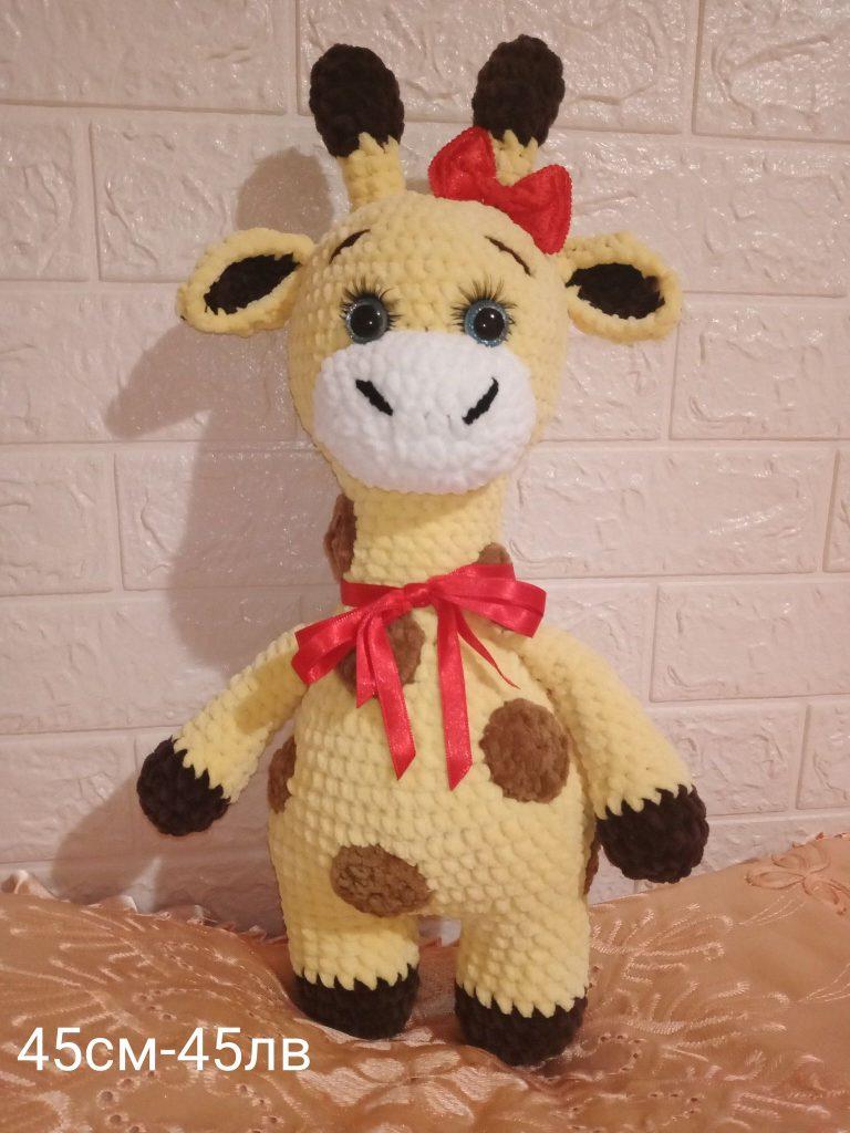 плетена-играчка-жирафче
