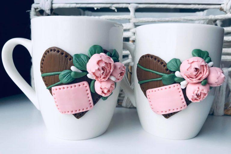 чаша-розови-божури-декорирана-с-полимерна-глина