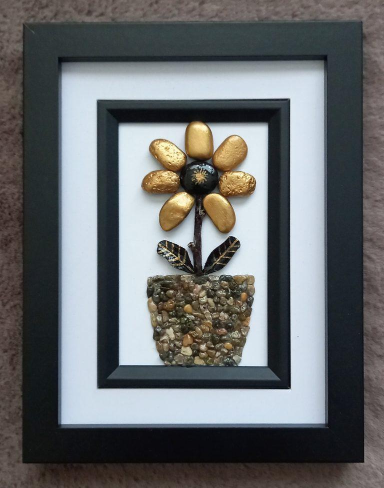 цвете-от-морски-камъчета
