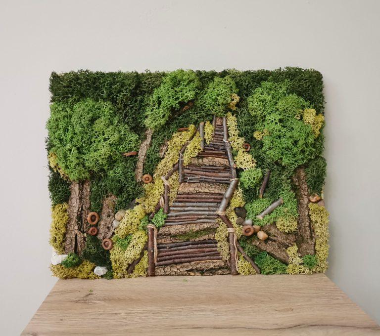 дървена-пътека-в-гората