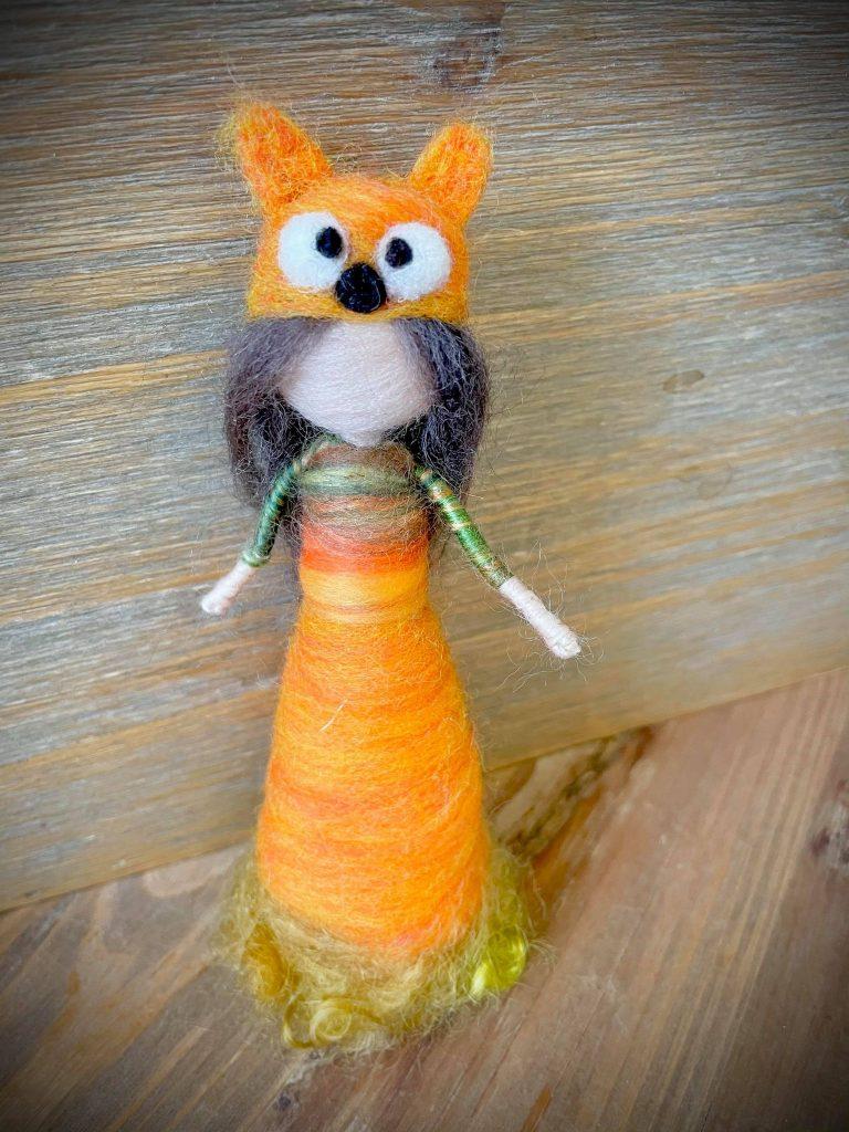 кукла-от-вълна-лисица
